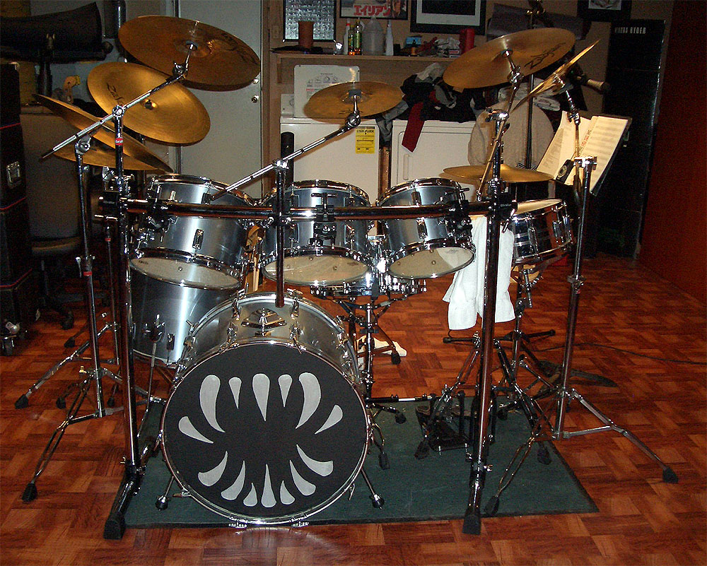 My current kit for 18x18 floor tom